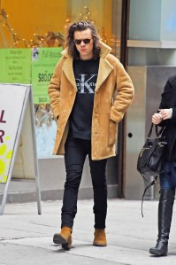 Dec 20, 2014; New York, New York, United States Of America;  Harry Styles out and about in NYC on DECEMBER 20, 2014 in New York.(Photo By Josiah KamauBuzzFoto.com)..Buzz Foto LLC .httpwww.buzzfoto.com .1112 Montana Ave suite 80 .Santa Monica CA 90403 .1 310 980 8822.1 310 691 3888 Local Caption *** Harry Styles (Credit Image: © BuzzFoto.com/BuzzFoto.com/KEYSTONE Press)